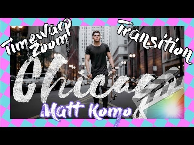 Matt Komo Timewarp Zoom Transition - Final Cut Pro X