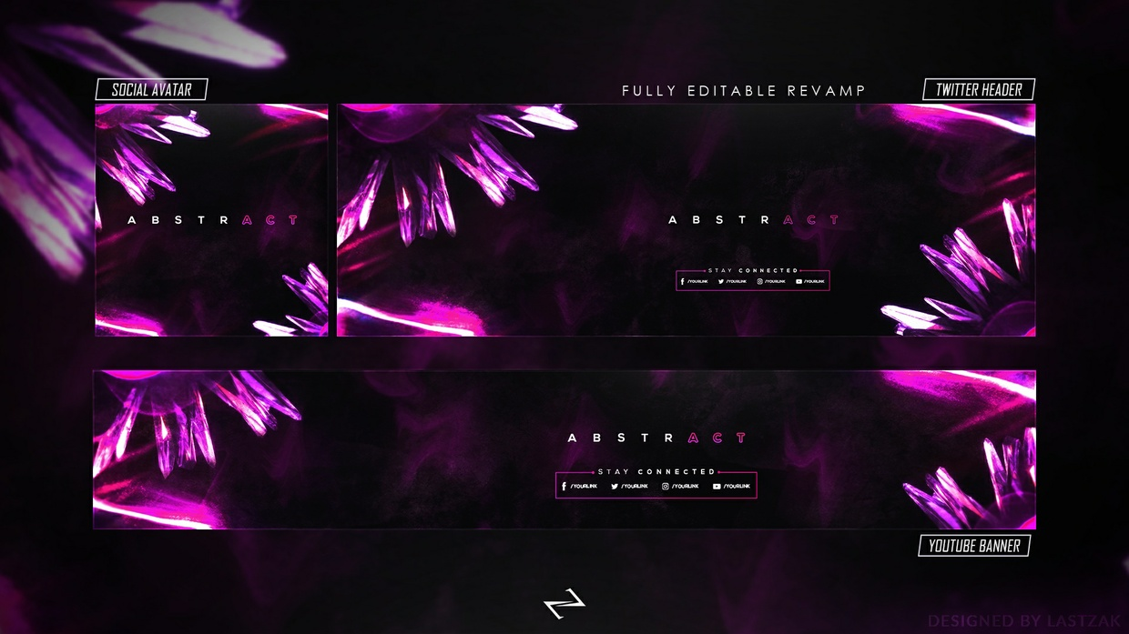 FREE GFX - FREE Abstract Revamp/Rebrand 2018 [PSD Template]