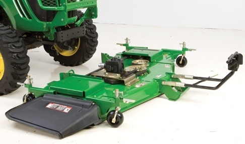 John Deere 54F,60D,62D,72D OnRamp™; AutoConnect; 261,272 Rear-Mounted Mowers Technical Manual