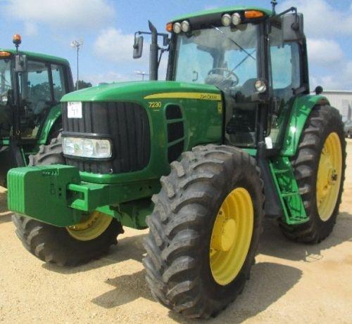 John Deere 7130, 7230 Premium Tractors Service Repair Manual (TM400119)