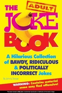 FREE eBook With MRR The Adult Joke Book. Hilarious Funny Collection Of Adult Jokes