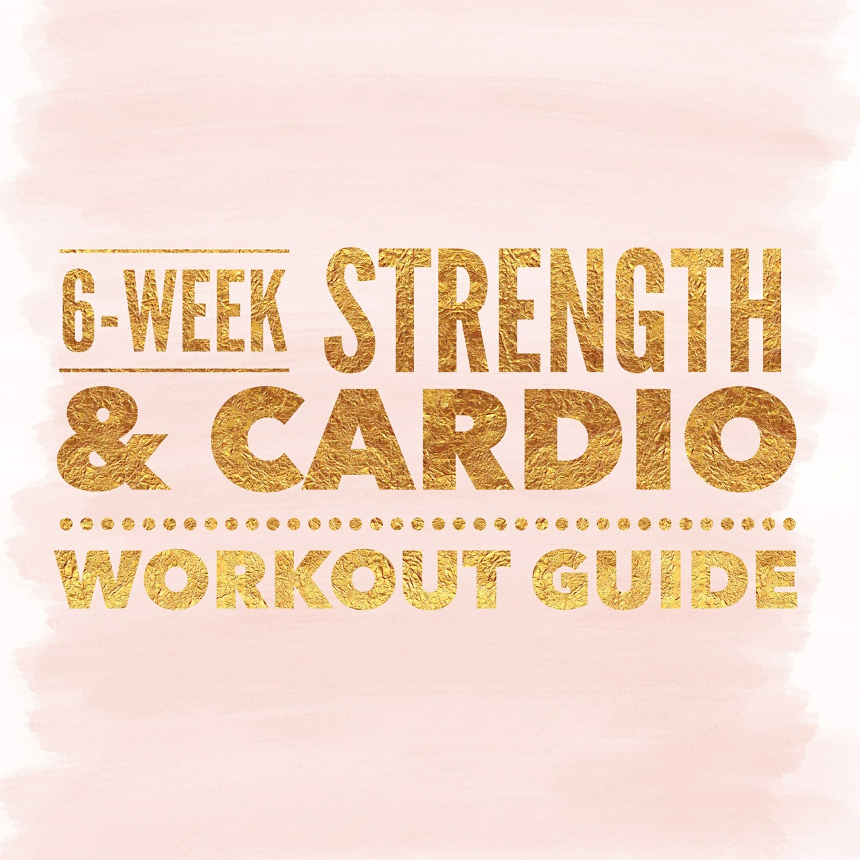 6-Week Cardio & Strength Workout Guide
