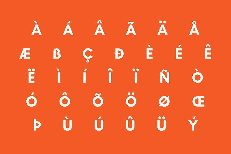 Industri Typeface