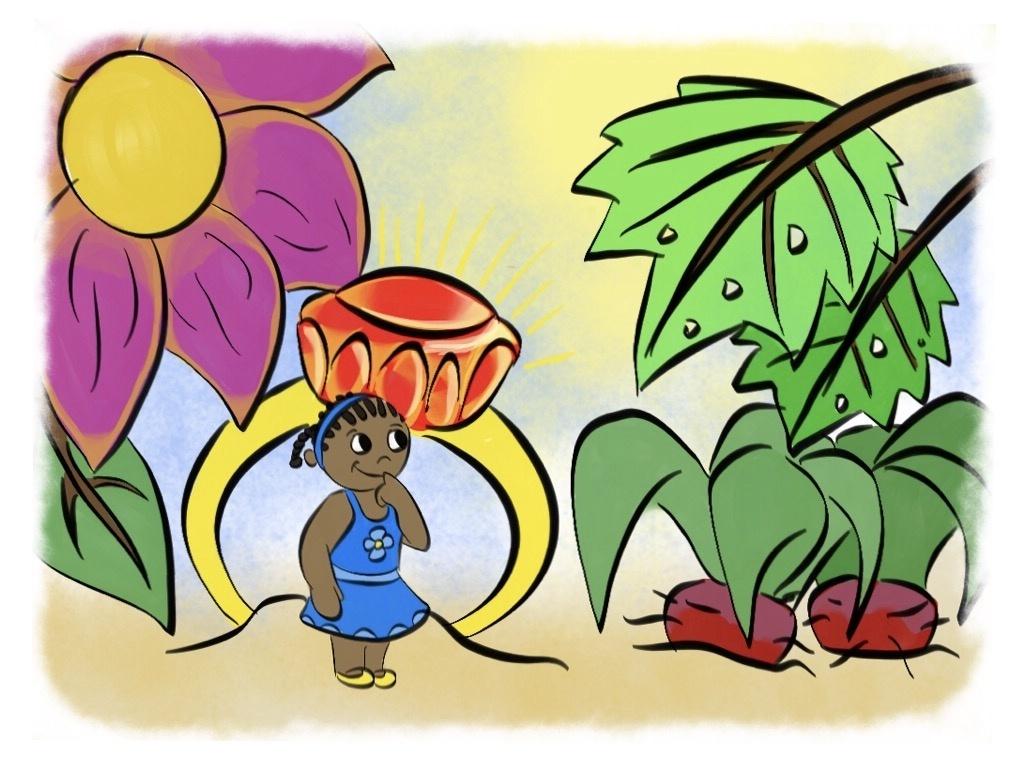 Amara and the Wizard's Garden