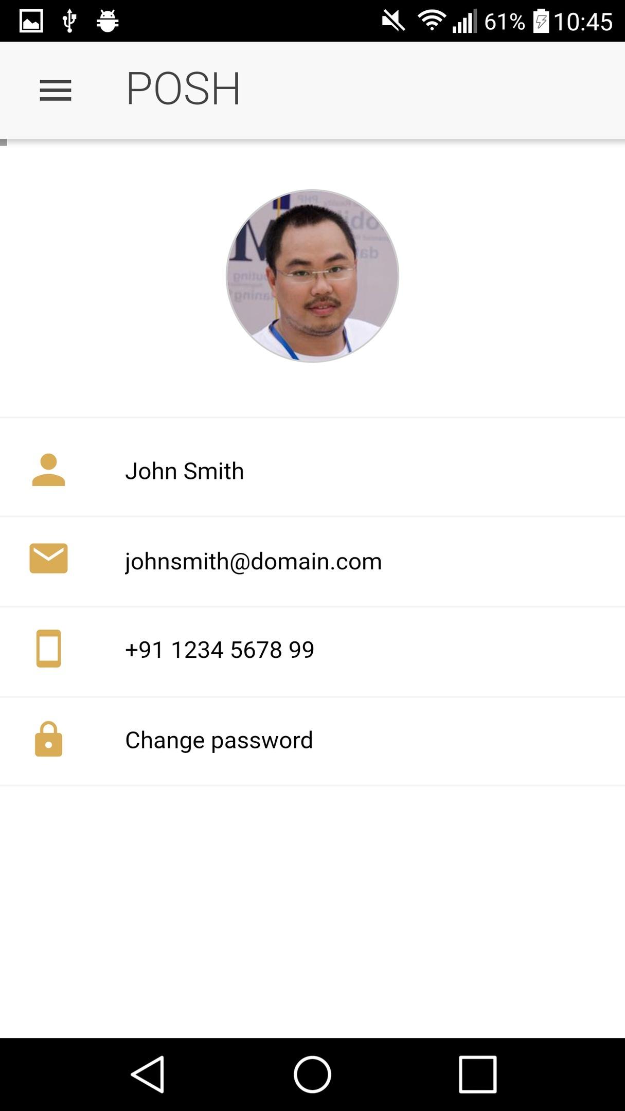 ionFullApp Ecommerce App 9Beauty POSH