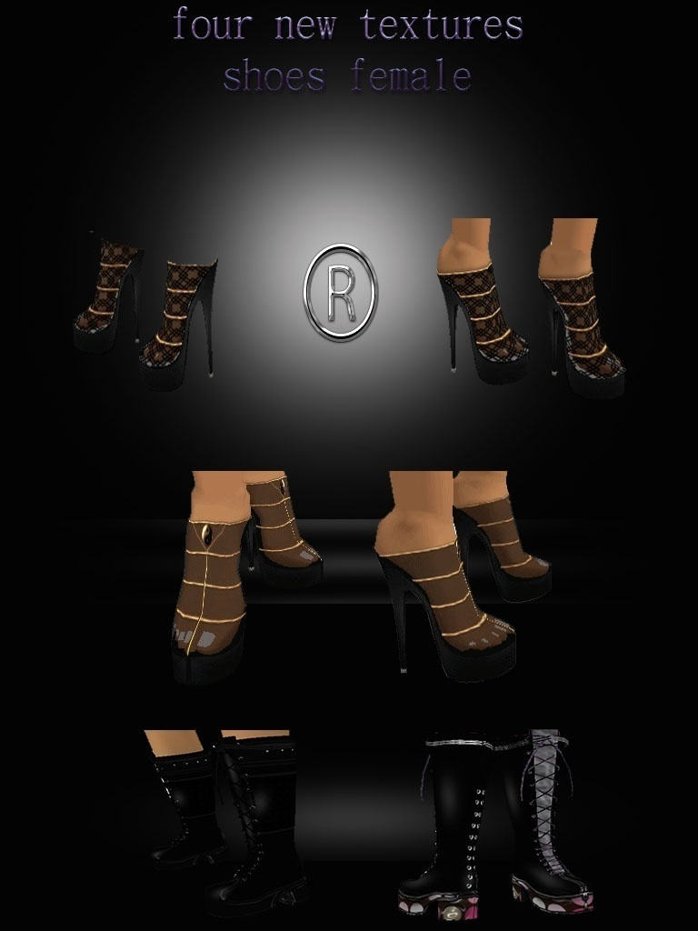 four packages with clothes and shoes textures on offer for a few days
