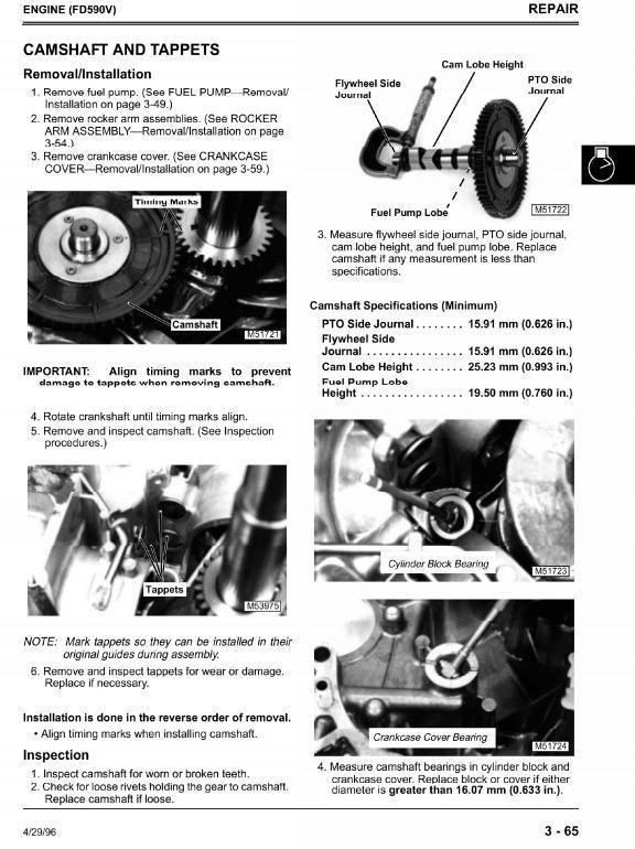 John Deere Gas Professional Greensmower 2243 Workshop Service Manual (tm1473)