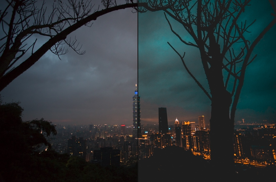 Lightroom Presets-Night City LR濾鏡