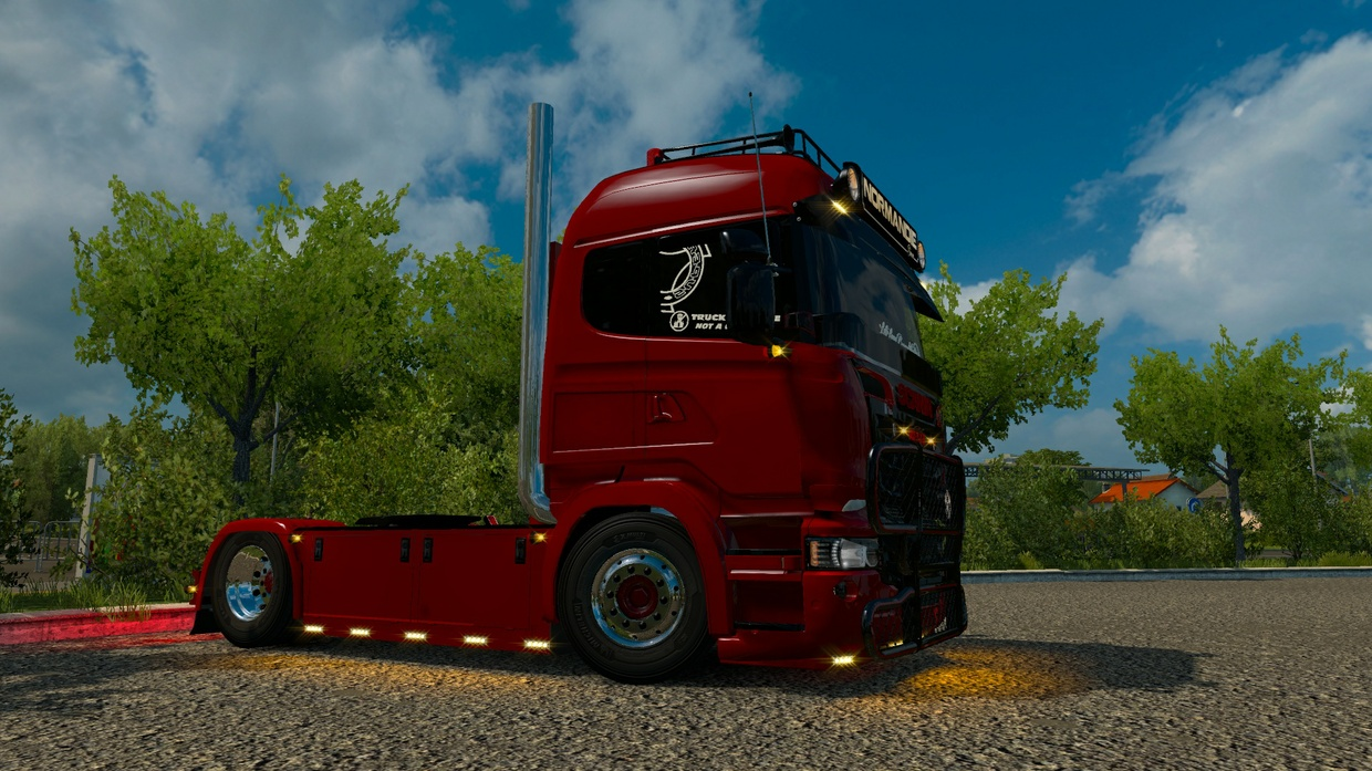 Scania punisher modified.