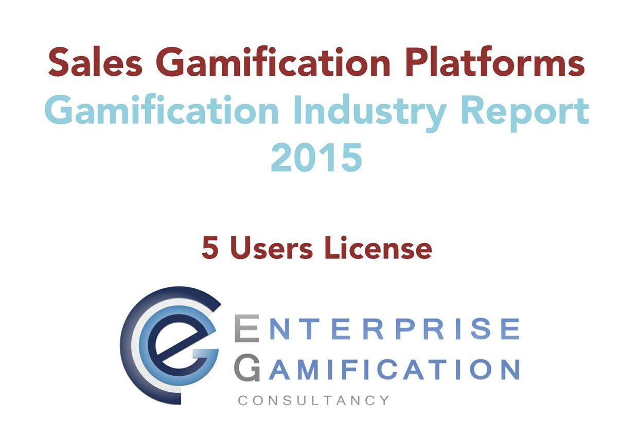 Sales Gamification Platform Report 2015 (5 Users License)