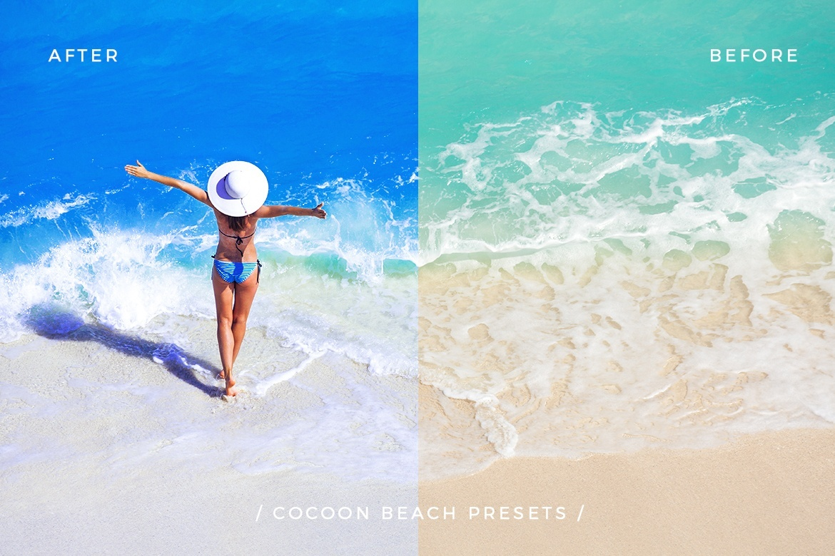 Beach Vibes Photoshop Actions