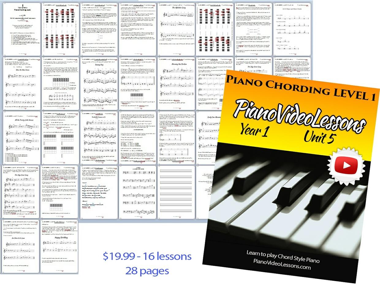 Unit 5 [Year 1] Piano Chording Level 1