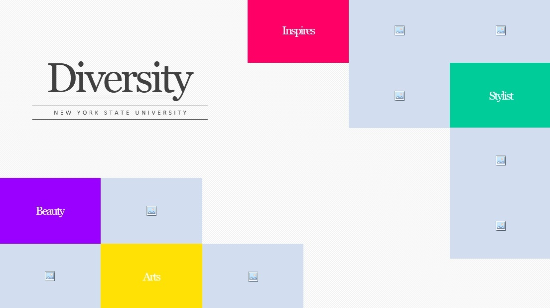 Diveristy Magazine Presentation Template