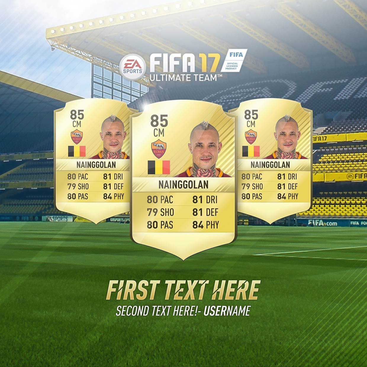 FIFA 17 Background pack (PSD)