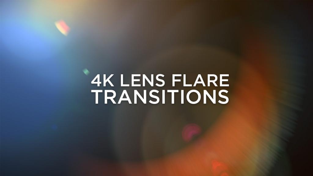 4K Lens Flare Transitions by DOD Media