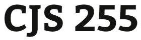 CJS 255 Week 2 Federal Prison Comparison