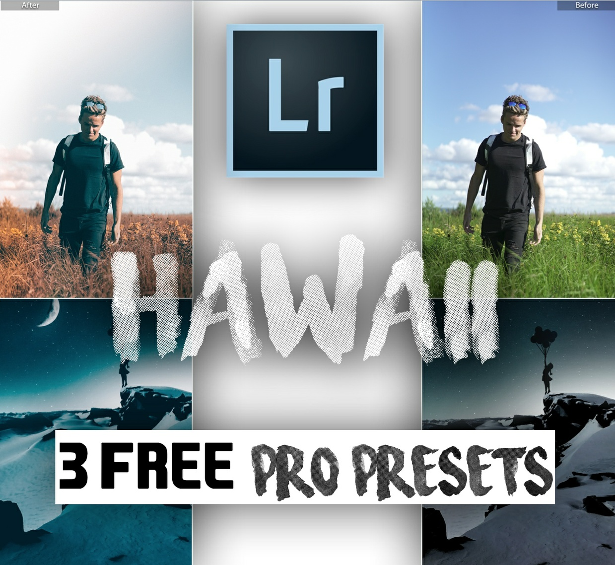 """HAWAII TRIAL"" 3 Pro Travel Lightroom Presets | FREE"