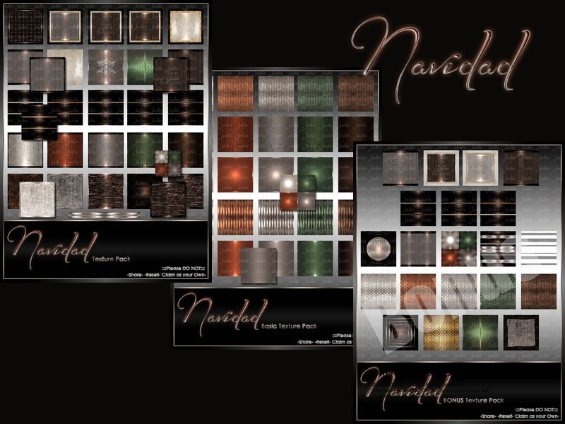 Navidad Texture Pack Collection-- $10.00