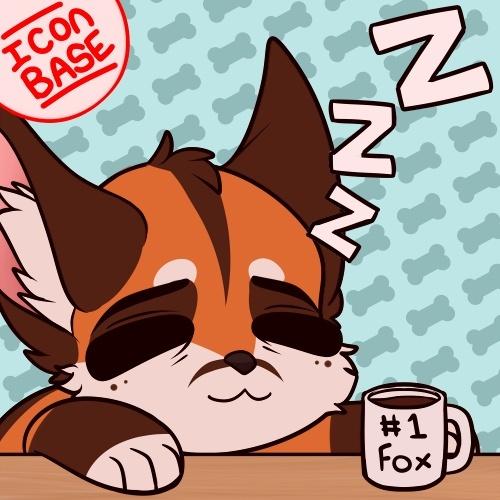 Sleepy/Coffee Icon Base