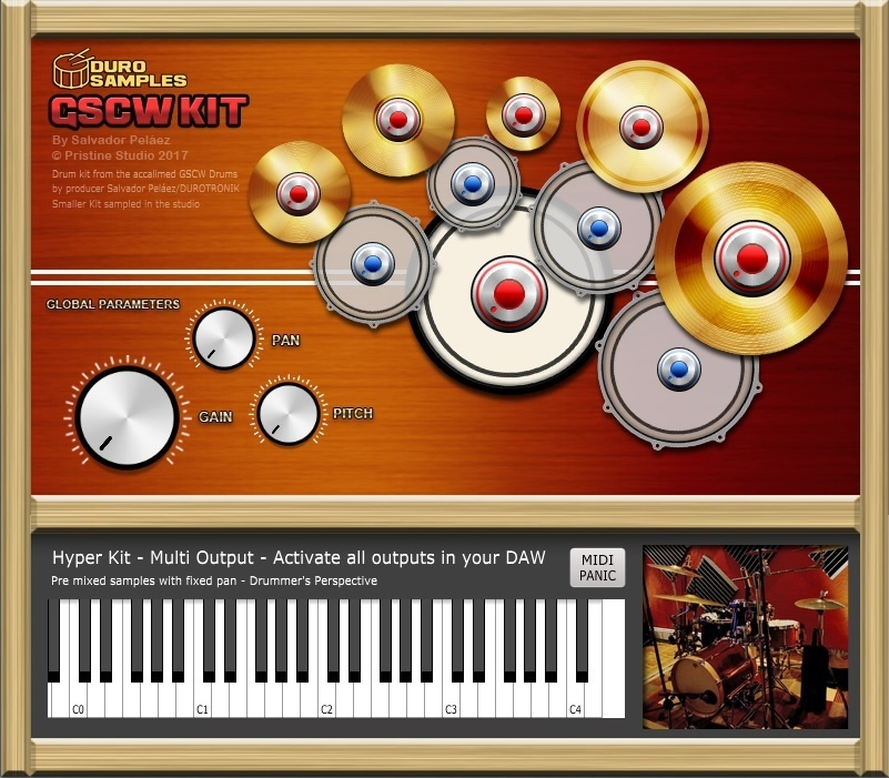 GSCW KIT 64bit by Duro Samples