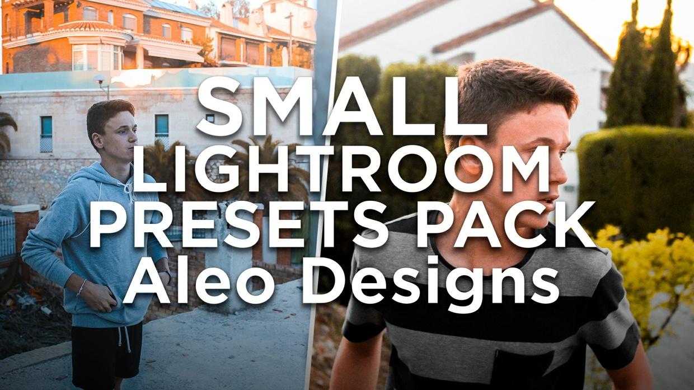 SMALL LIGHTROOM PRESETS PACK - Aleo.