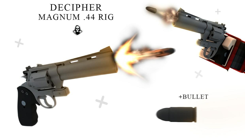 Decipher Magnum .44 Pistol Rig [Gun]
