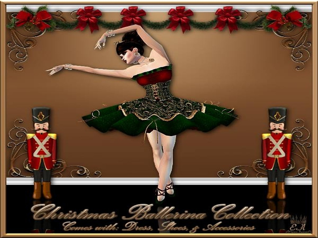Christmas Ballerina No Re-Sell Rights!!!
