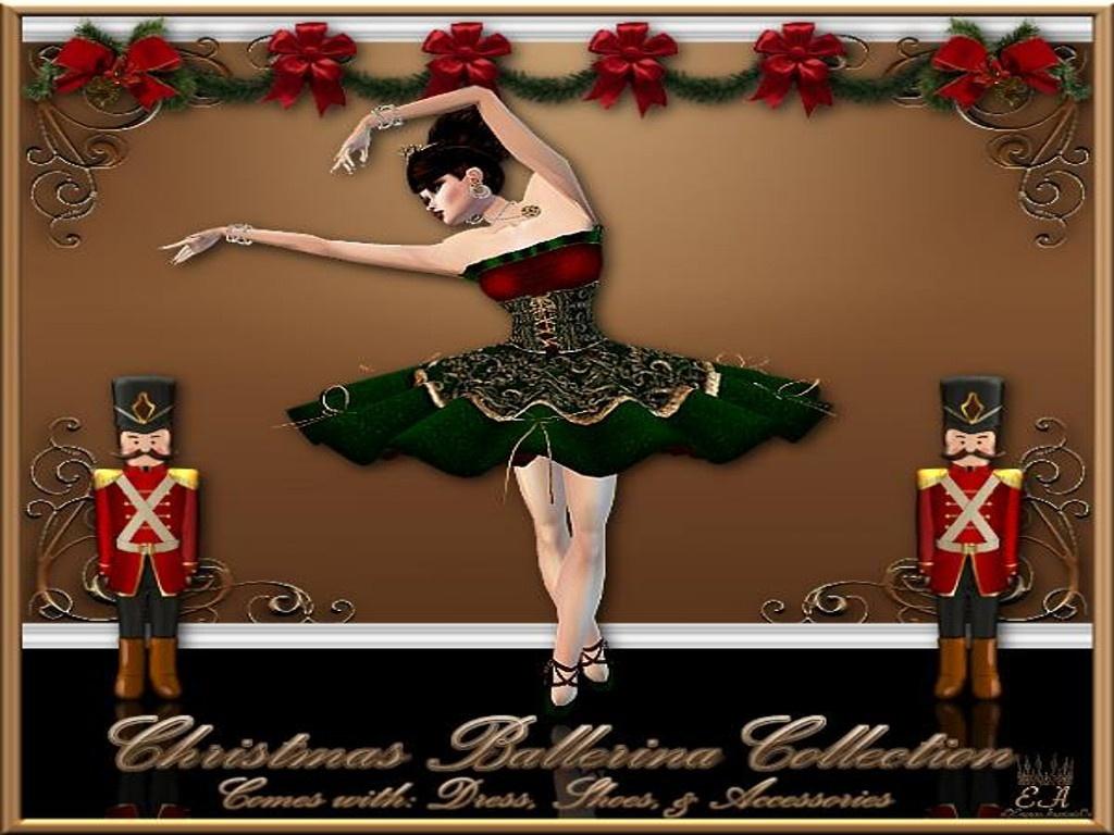 Christmas Ballerina No Re-Sell Rights!!!