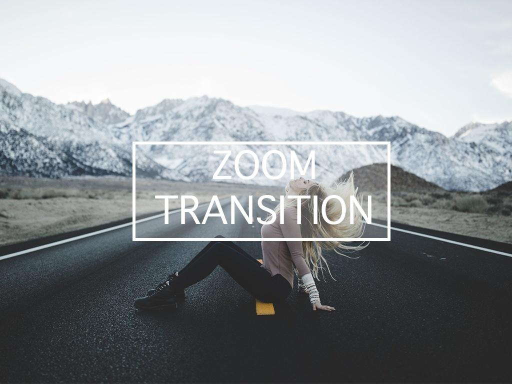 SAM KOLDER ZOOM TRANSITION EFFECT