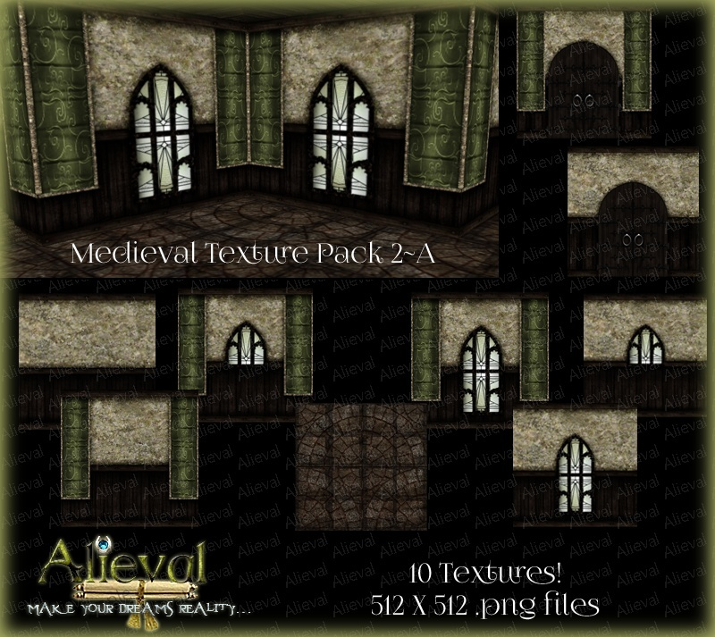 Medieval Texture Pack 2-A