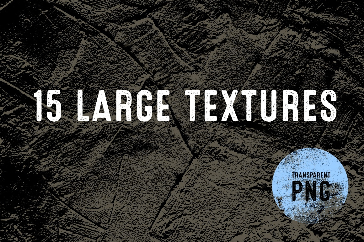 Large Textures - 15 Items