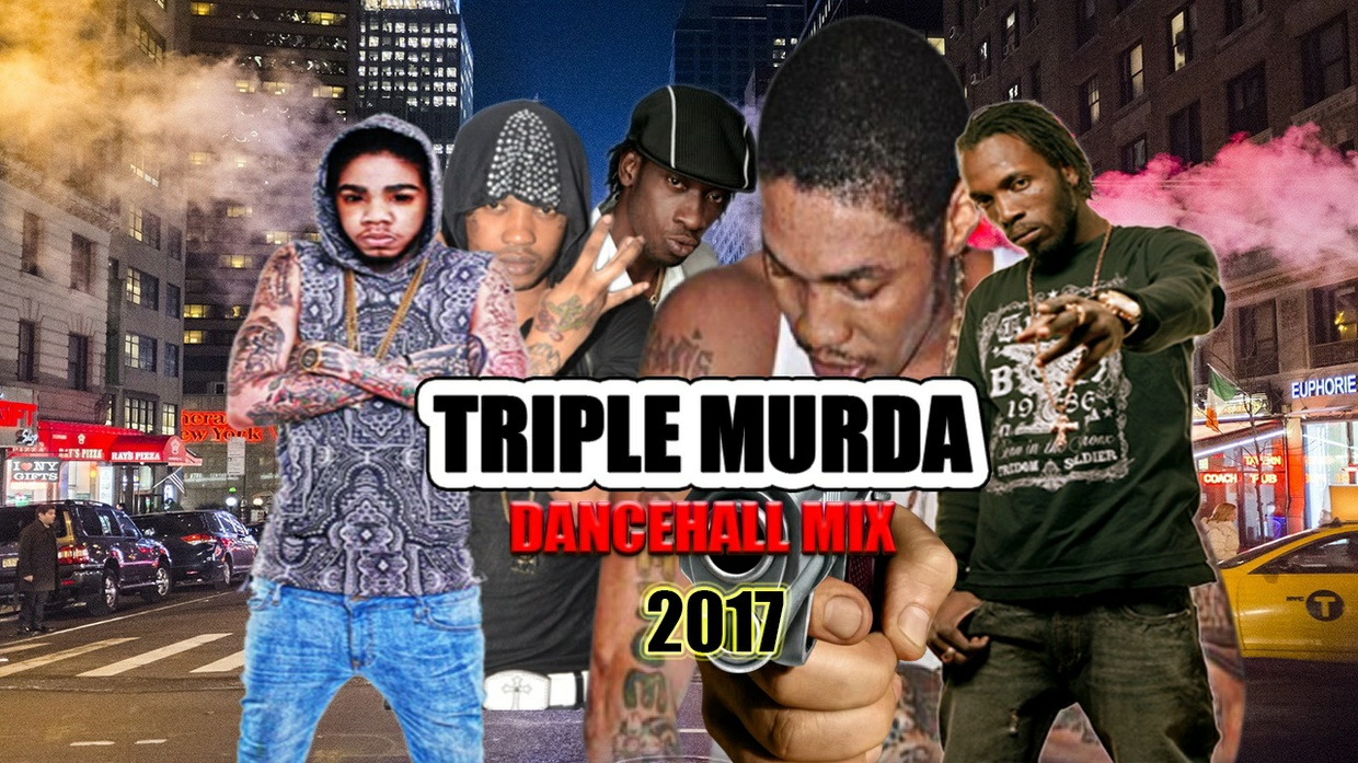 TRIPLE MURDA {DANCEHALL MIX JUNE 2017} MIX BY djinfluence