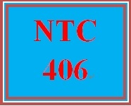 NTC 406 Week 5 LT Eval Form
