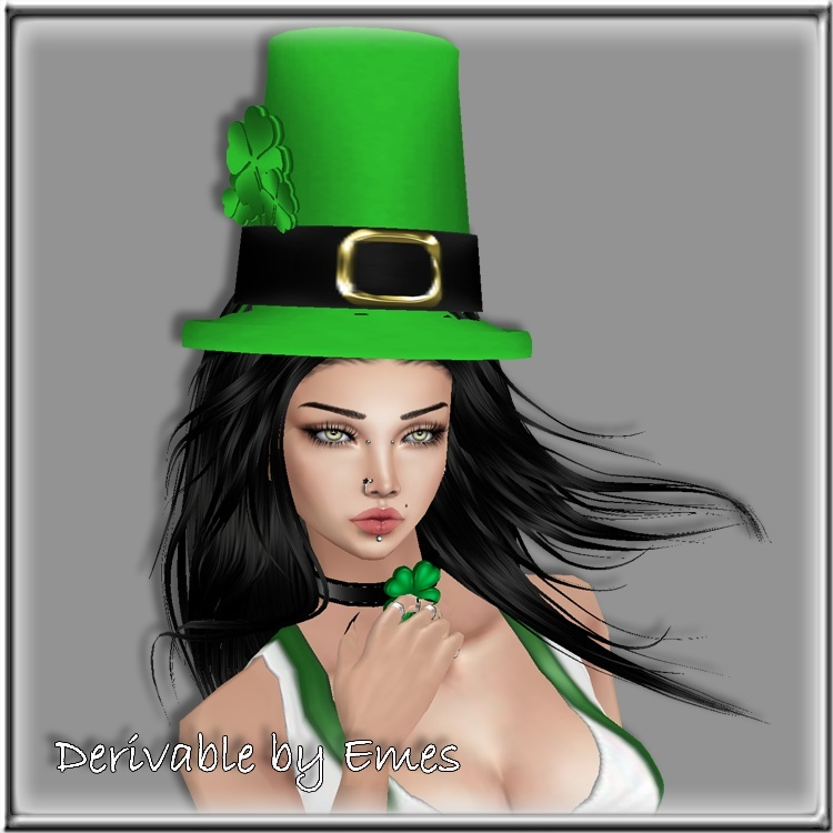 ST.PATRICK'S DAY HAT MESH FEMALE 2016