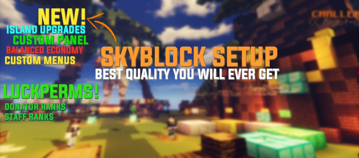 THE BEST SKYBLOCK SETUP ON THE MARKET