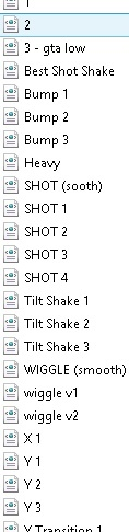 S_SHAKE Presets Pack !