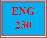 ENG 230 Week 2 Sentence Construction and Variety