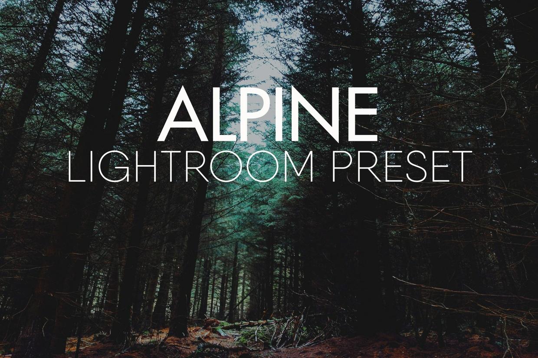 ALPINE Lightroom Preset