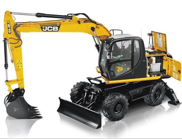 JCB JS130W, JS145W, JS160W, JS175W Wheeled Excavator Service Repair Workshop Manual DOWNLOAD