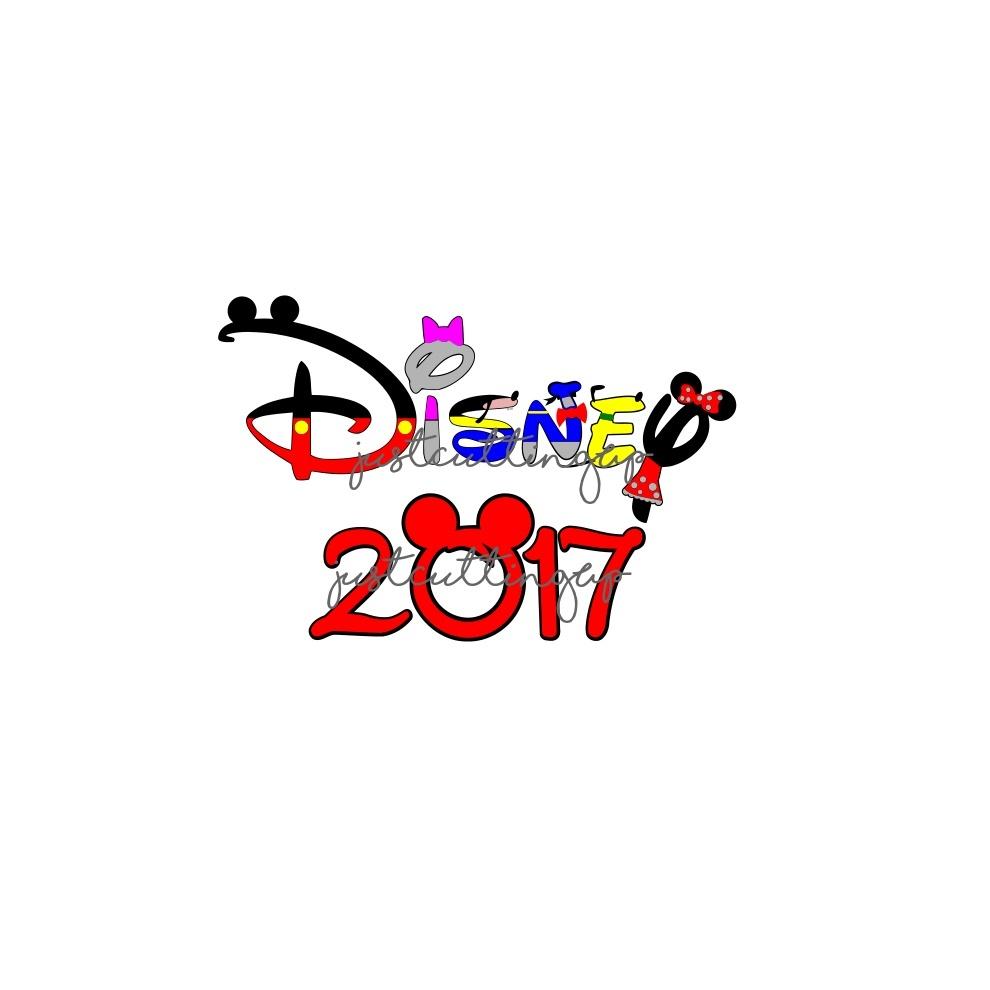 Disney 2017 SVG only