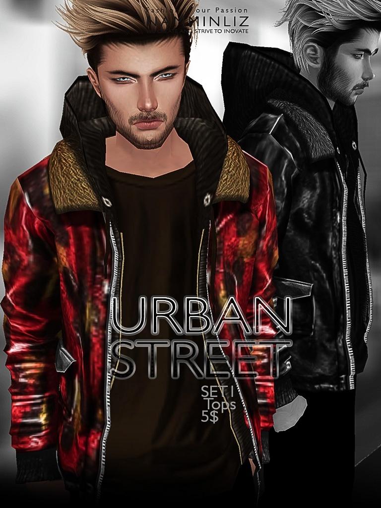 URBAN STREET Full SET imvu JPG texture File sale NAMMINLIZ