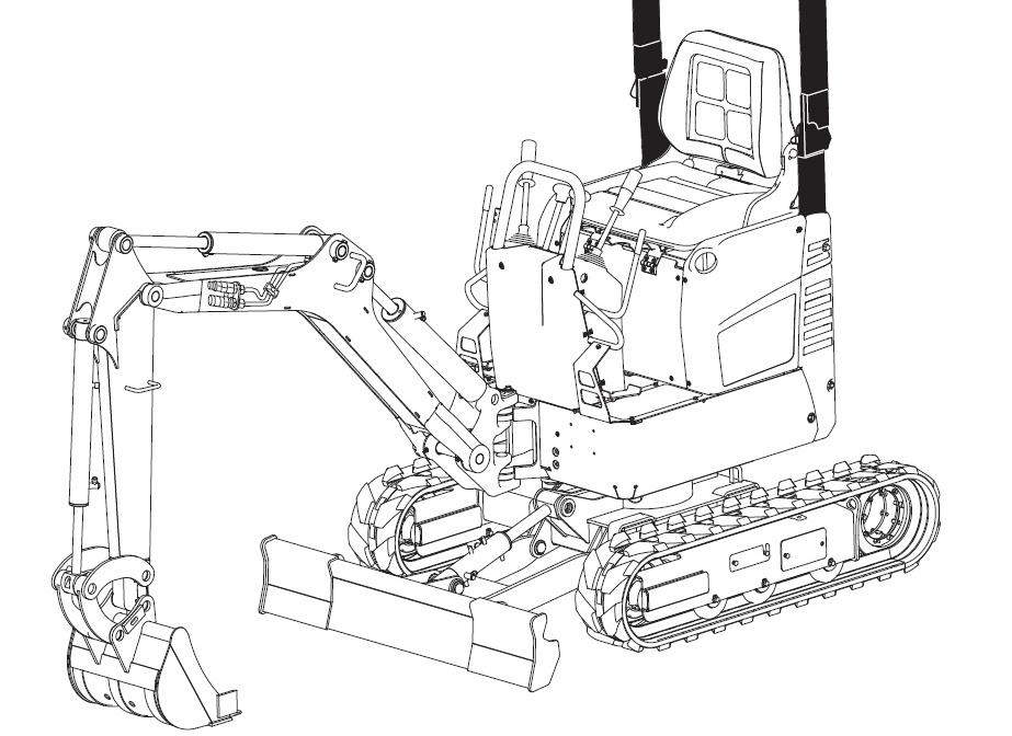Bobcat E08 Compact Excavator Service Repair Manual Download(S/N A4BP11001 & Above)