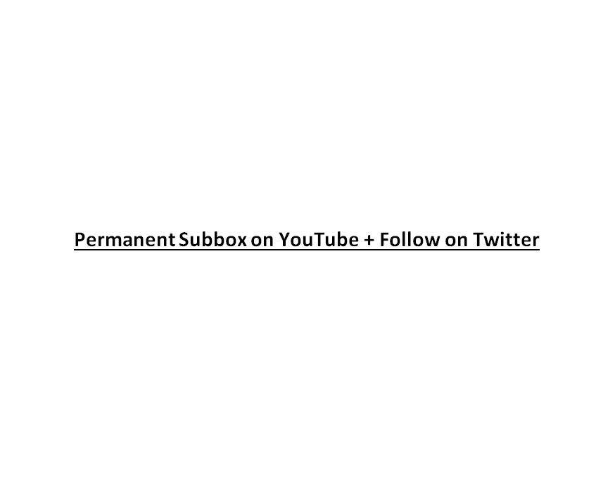 Permanent Subbox