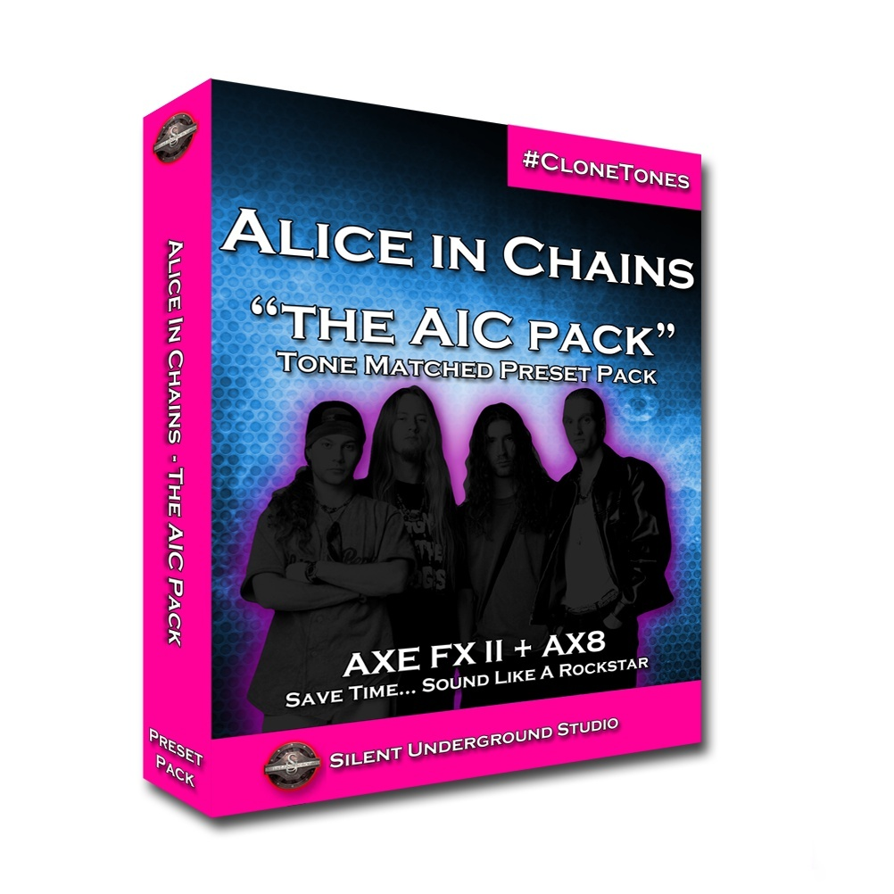 "Alice In Chains ""The AIC Pack"" (FAS)"
