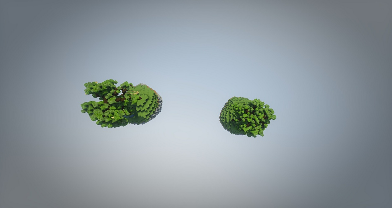 2 SkyBlock Islands