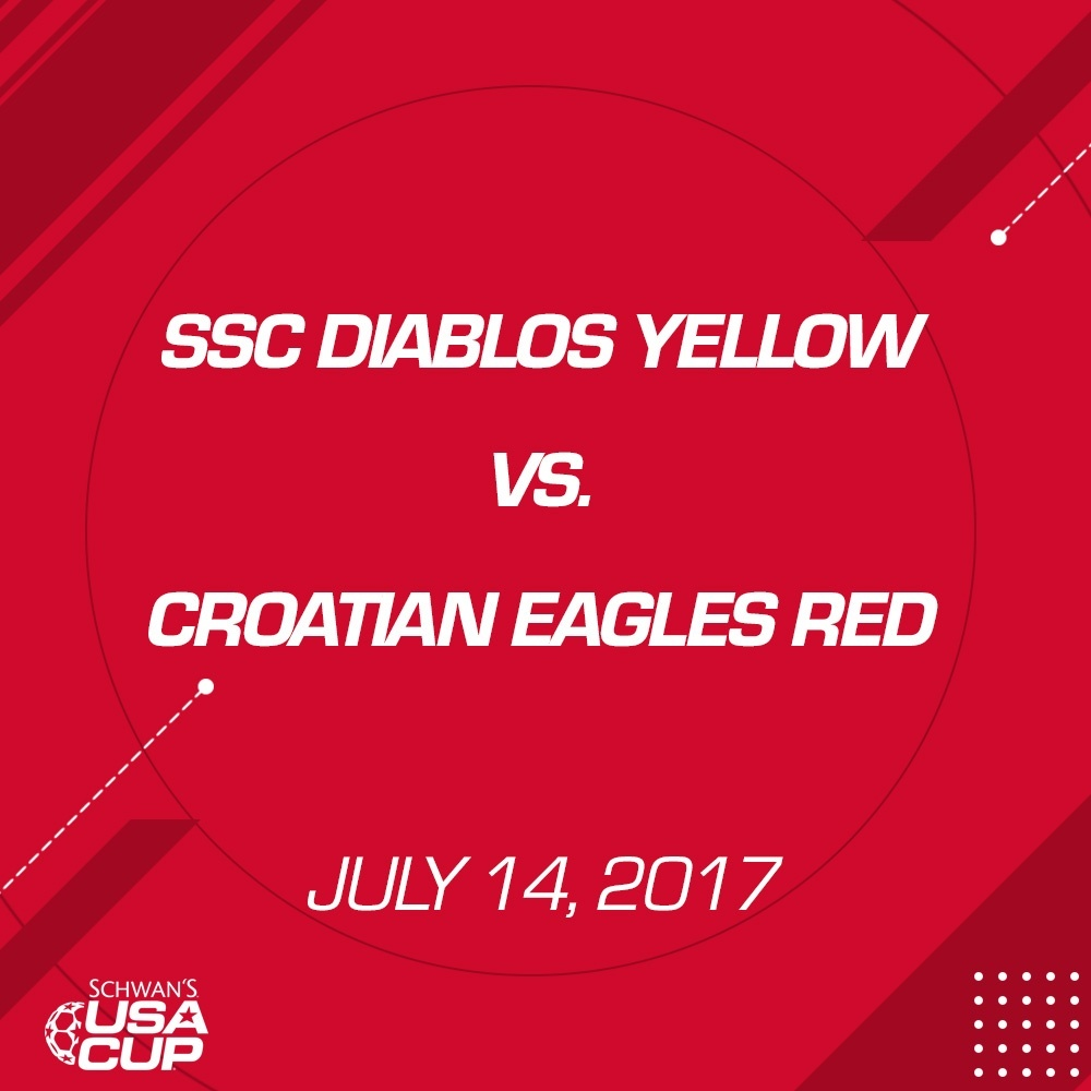 Boys U15 - July 14, 2017 - SSC Diablos Yellows vs Croatian Eagles Red