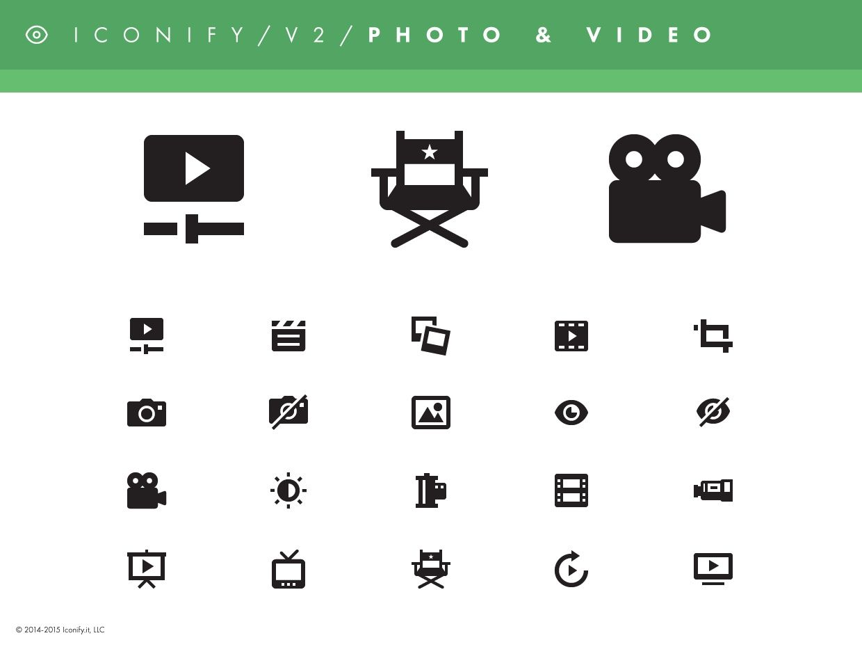 Iconify v2 - Photo & Video