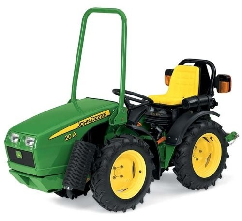 John Deere 20A Nursery and Green House Specialty Tractor Technical Manual (TM103219)