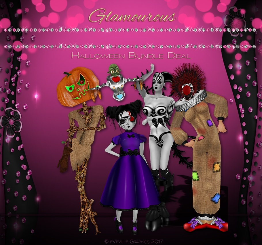 Halloween Bundle Deal 26 Collection ~CATALOG ONLY~
