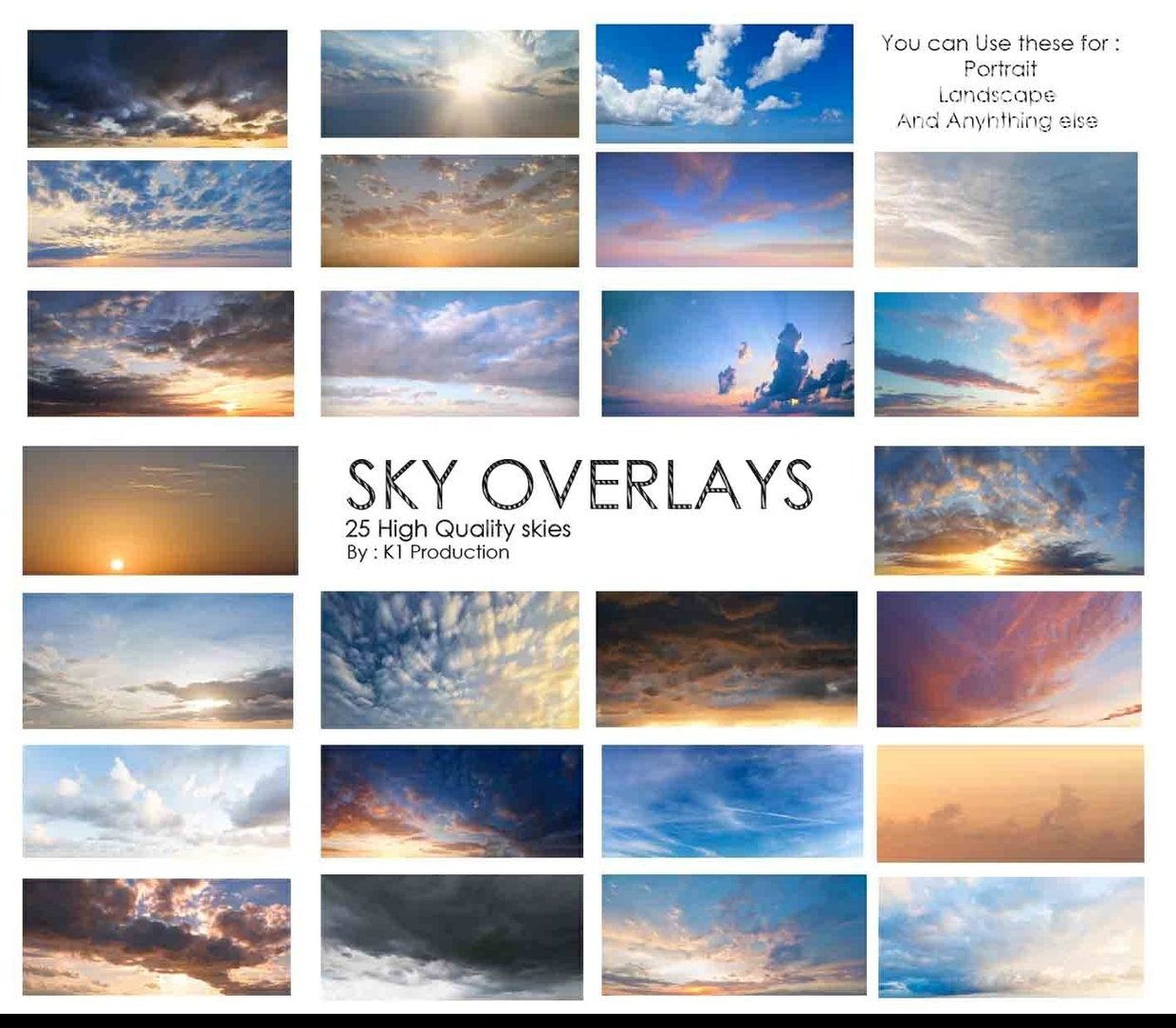 Sky Overlays Package